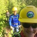 Still smiling as the day heats up.- The Bold Betties: Idaho Trails Association Women's-Only Trail Maintenance