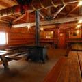 Ten Mile Sno-Park warming hut.- Paulina Creek + Falls Loop Trail