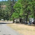 Campground.- Klickitat River Campground