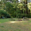 The campground's hiker/biker camp.- Beverly Beach State Park Campground