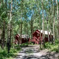 Cabins at Mesa Lake Lodge.- Great Lodges of the West