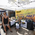 Outdoor Project's tent at the 2018 Outdoor Project Austin Block Party Festival.- 2018 Austin Block Party Recap