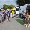 Road Trip Campervan Rentals at the 2018 Outdoor Project Austin Block Party Festival.- 2018 Austin Block Party Recap