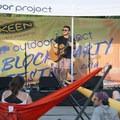 Josh Klaus playing at the 2018 Outdoor Project Austin Block Party Festival.- 2018 Austin Block Party Recap