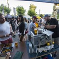 Ecliptic's cold brews being served up at the 2018 Outdoor Project Portland Block Party.- 2018 Outdoor Project Portland Block Party Recap