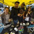 Locals enjoying the KEEN goods at the 2018 Outdoor Project Seattle Block Party.- 2018 Outdoor Project Seattle Block Party Recap