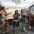Five Letter Word playing at the 2018 Outdoor Project Seattle Block Party.- 2018 Outdoor Project Seattle Block Party Recap