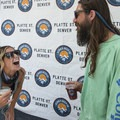 Photo booth shenanigans at the 2018 Outdoor Project Denver Block Party.- 2018 Outdoor Project Denver Block Party Recap