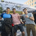 Our Grand Prize winner of the Gear Junkie supported Gear Giveaway at the 2018 Outdoor Project Denver Block Party.- 2018 Outdoor Project Denver Block Party Recap