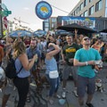 The Gear Junkie supported Gear Giveaway at the 2018 Outdoor Project Denver Block Party.- 2018 Outdoor Project Denver Block Party Recap