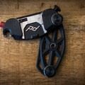 The front of the clip in an open position.- Gear Review: Peak Designs Capture Camera Clip