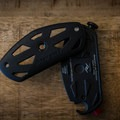 The back of the clip in an open position.- Gear Review: Peak Designs Capture Camera Clip