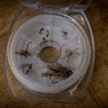 Line holders double as fly holders for ultra-lightweight setup.- Gear Review: Wetfly Backcountry Tenkara Fly Outfit