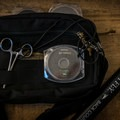My whole setup fits into or attached to this great Mountainsmith fanny pack that came with another backpack I have from them.- Gear Review: Wetfly Backcountry Tenkara Fly Outfit