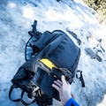A giant front shove-it pocket is bomber and super convenient to use. - Gear Review: Mountainsmith Tanuck 40L Backpack