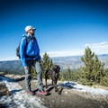Coming out of the trees and finding more dirt than ice. Since I wasn't walking on rock, which would dull them, I opted to wear them a bit longer in case I needed them again.- Gear Review: Kahtoola MICROspikes
