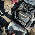 Another shot of the zipper flap opened up. Mountainsmith sells these camera cubes designed to fit in the Tanuck.- Gear Review: Mountainsmith Tanuck 40L Backpack