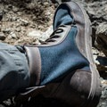Most of the boot is fabric with some leather accents.- Gear Review: Lems Shoes Boulder Boot Men's