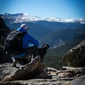 Taking in the views! This pack is comfortable, which I appreciate as a photographer.- Gear Review: Mountainsmith Tanuck 40L Backpack