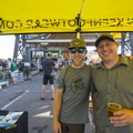 The gents of KEEN and Nikwax at the 2018 Outdoor Project Minneapolis Block Party.- 2018 Outdoor Project Minneapolis Block Party Recap