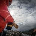 Adjusting the wrist strap.- Gear Review: Mountain Standard MTN Utility Glove