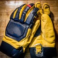 The back and palm. Lots of padding for skiers.- Gear Review: Mountain Standard MTN Utility Glove