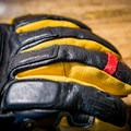 Extra knuckle padding and a carabiner ring.- Gear Review: Mountain Standard MTN Utility Glove