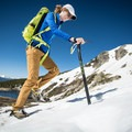 Starting our ascent.- Gear Review: C.A.M.P. Alpina Ice Axe