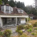 The historic Barview Life-Saving Station built in 1907.- The Tillamook Bay Heritage Route