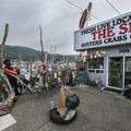 The Spot seafood market at Garibaldi Marina.- The Tillamook Bay Heritage Route