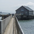 Pier's End Boathouse.- The Tillamook Bay Heritage Route
