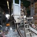 The repair house at the Oregon Coast Scenic Railroad in Garibaldi.- The Tillamook Bay Heritage Route