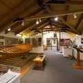 Inside the Garibaldi Maritime Museum.- The Tillamook Bay Heritage Route