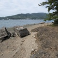 The beach and ruins at Hobsonville Point.- The Tillamook Bay Heritage Route