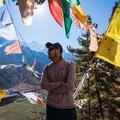 Rajat taking in the view atop Piren Phu.- Nepal Undiscovered, Part 1: Tsum Valley Trek