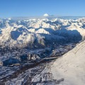 Denali National Park and Preserve above the clouds.- Denali Flightseeing