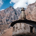 One of the many beautiful stupas along the way.- Nepal Undiscovered, Part 1: Tsum Valley Trek
