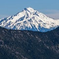 Bull of the Woods Wilderness: View of Mount Jefferson from Whetstone Mountain.- National Wilderness Preservation System
