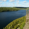 Clearwater Lake in the Boundary Waters Canoe Area Wilderness.- Mining Endangers Minnesota's Boundary Waters