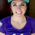 Can you tell Kaysee is happy about racing for LIV Cycling? Photo by Jeff Clark.- Woman In The Wild: Kaysee Armstrong