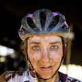 Kaysee after Stage 1 of the Cape Epic this year in South Africa, where she got to race with teammate and friend Serena Gordan. Photo by Jeff Clark.- Woman In The Wild: Kaysee Armstrong