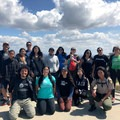 Latino Outdoors hike at Baldwin Hills Scenic Overlook State Park. Photo by Christian La Mont.- Woman In The Wild: Marci Rosales