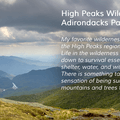 High Peaks in the Adirondacks. Photo courtesy of Jeff P from Flickr Creative Commons license.- Nifty, Nifty, Look Who's Fifty