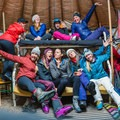 Yurt trip fun. Photo by Arika Bauer.- Woman In The Wild: Justine Nobbe
