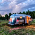 The classic Airstream. Photo courtesy of Timeless Travel Trailers.- The Best Camper Vans + Trailers