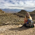 Allie experiencing major cowboy vibes in Big Bend National Park!- Woman In The Wild: Allie Kresen