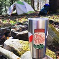 A cozy spring morning in Allie's favorite place to backpack in West Virginia: Spruce Knob.- Woman In The Wild: Allie Kresen