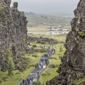 Mid-Atlantic ridge at Þingvellir.- 1-Week Adventure Itinerary for Iceland