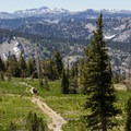Hikers on Mount Tallac's Summer Trail in Desolation Wilderness.- Touring Tahoe: 10 Must-Do Summer Adventures