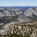 Panoramic views from the top of Mount Tallac.- 5 Incredible Fall Hikes Near South Lake Tahoe